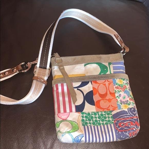 Coach Handbags - Patchwork Coach Crossbody